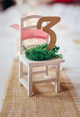DIY Tischnummern & Tipps zum Sitzplan